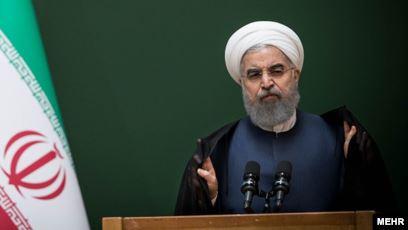 روحانی در جلسه انتخاب رئیس تازه جمعیت هلال احمر کارت قرمز داد