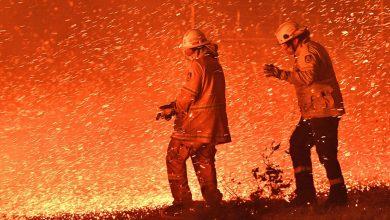 تصویر از فاجعه سال جدید میلادی: بر پایی جهنم در استرالیا