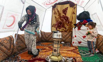 تصویر از قطور، مردمانی زلزله زده در بحبوحه کرونا که نیازمند امدادرسانی هستند!