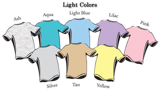 رنگهای روشن مناسب لباس افراد لاغر