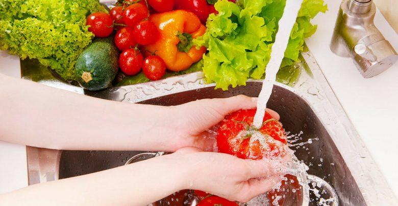 ضدعفونی کرده میوه و سبزی