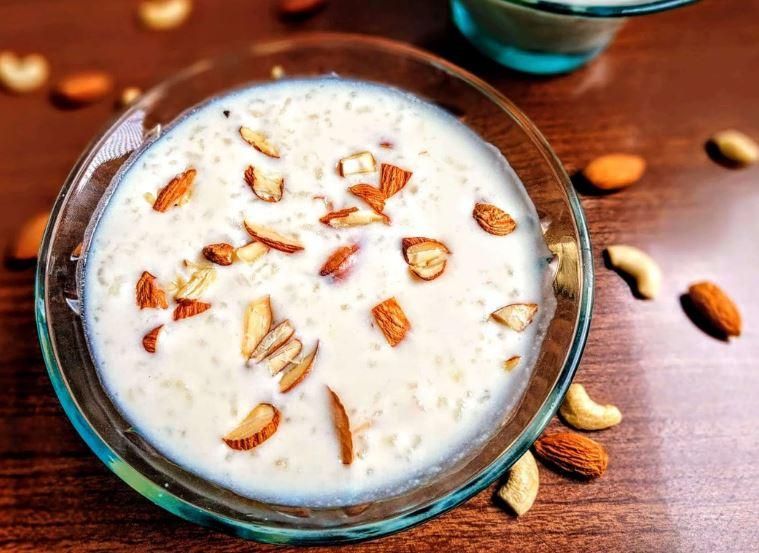 فرنی با آرد برنج