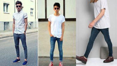 تصویر از افراد لاغر بهتر است چه لباسهایی بپوشند؟