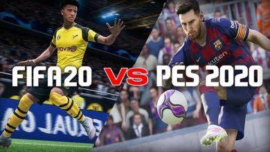 تصویر از مقایسه PES2020 با FIFA20 | کدامیک بهتر است؟