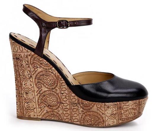 کفش پاشنه بلند لژدار