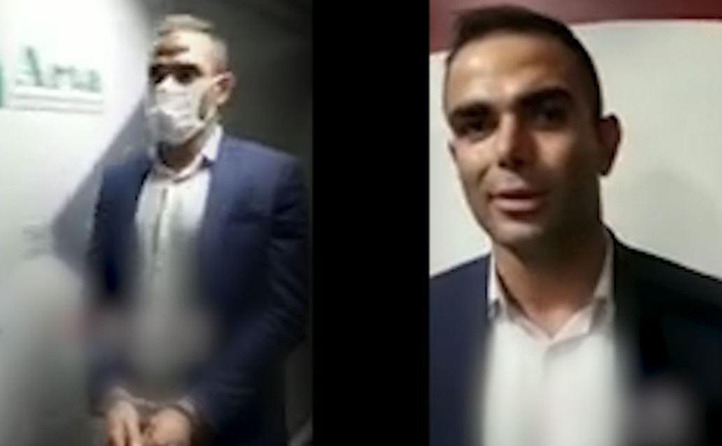 فیلم دستگیری وحید خزایی در فرودگاه امام خمینی