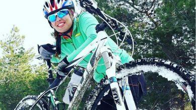 تصویر از ونوس زرین خاک دوچرخه سوار درگذشت + عکس