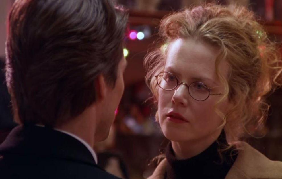 کیدمن در فیلم چشمان کاملاً بسته 1999
