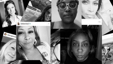 تصویر از ماجرای چالش عکس سیاه و سفید زنان در اینستاگرام چیست؟
