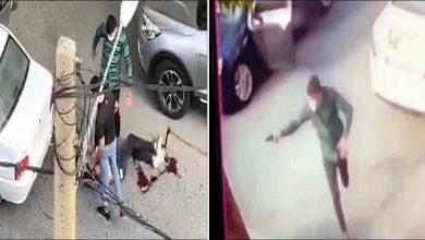 تصویر از ماجرای کامل درگیری مسلحانه در سعادت آباد + فیلم تیراندازی