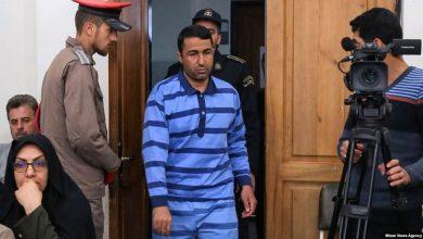 تصویر از مصطفی صالحی از زندانیان دیماه ۹۶ اعدام شد