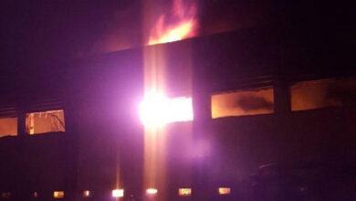 تصویر از آخرین جزئیات آتش سوزی کارخانه لبنیات میهن + ویدئو
