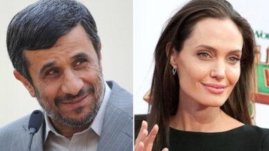 تصویر از احمدی نژاد خطاب به آنجلینا جولی : با هم شرایط را اصلاح کنیم