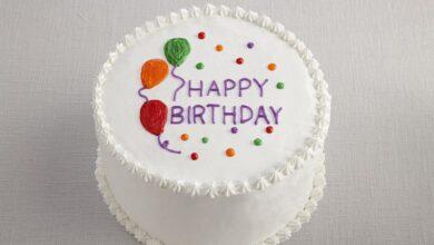 تصویر از راهنمای خرید کیک تولد | ۶ فاکتور مهم برای انتخاب کیک تولد