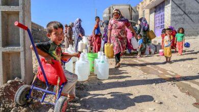 تصویر از کمبود آب مهاجران روستایی را به دیگر نقاط گسیل کرده است