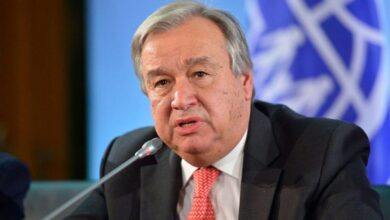 تصویر از دبیر کل سازمان ملل: در رابطه با مکانیسم ماشه تابع تصمیم شورای امنیت هستیم