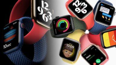 تصویر از از اپل واچ سری ۶ رونمایی شد