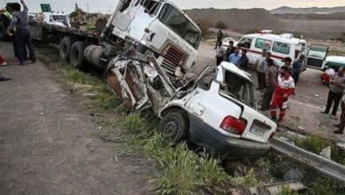 تصویر از جادههای نامناسب سیستان و بلوچستان بلای جان مردم هستند!