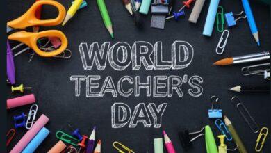 تصویر از پیام تبریک روز جهانی معلم + کارتپستال
