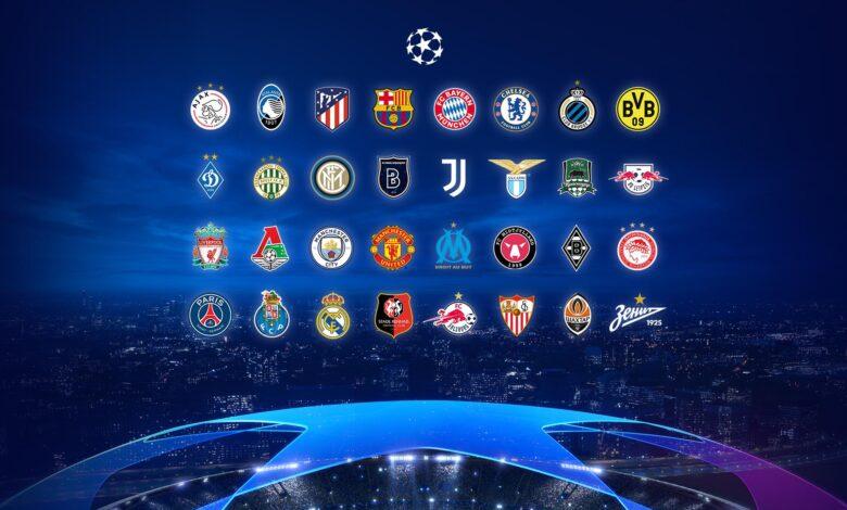 قرعهکشی لیگ قهرمانان اروپا 2020-2021