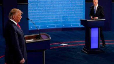 تصویر از خلاصهی آخرین مناظره انتخاباتی ترامپ و بایدن