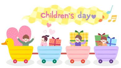 تصویر از پیام تبریک روز کودک + عکس