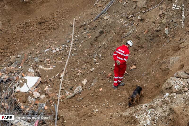 ریزش ساختمان خیابان ابوذر