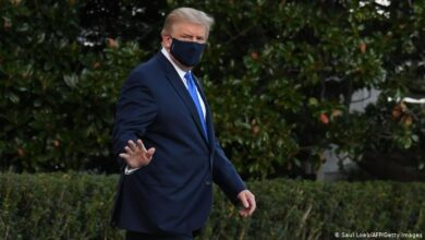 تصویر از دونالد ترامپ راهی بیمارستان شد