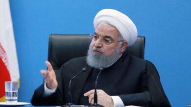 تصویر از سخنان روحانی درباره صلح امام حسن + واکنشها