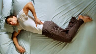 تصویر از برای کاهش دردهای مفصلی چگونه باید خوابید ؟