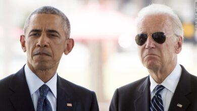 تصویر از حرکت جالب باراک اوباما در راستای حمایت از جو بایدن | فیلم