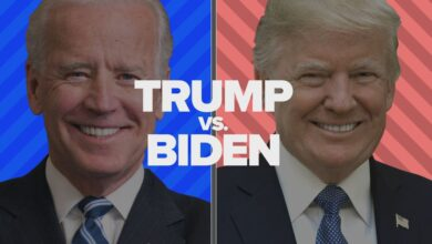تصویر از آخرین وضعیت شمارش آرای انتخابات ریاست جمهوری آمریکا