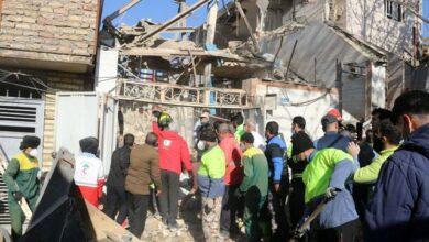 تصویر از آخرین جزئیات از حادثه انفجار خرم آباد + علت حادثه