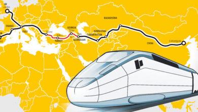 تصویر از راه اندازی خط آهن ترکیه به چین راهی برای دور زدن ایران توسط این کشور