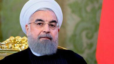 تصویر از روحانی: مردم ساعتی فشارهای تحریم را حس میکنند!