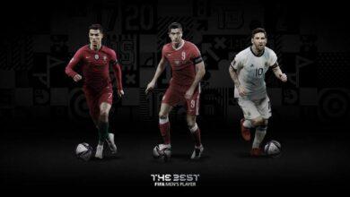 تصویر از اعلام نامزدهای نهایی بهترینهای فیفا   حضور رونالدو و مسی