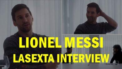تصویر از جدیدترین مصاحبه مسی | جنجالی و جذاب