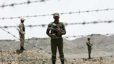 تصویر از درگیری ارتش با عناصر نفوذی در مرز دهلران