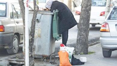 تصویر از صحبتهای جنجالی دختر زبالهگرد + فیلم