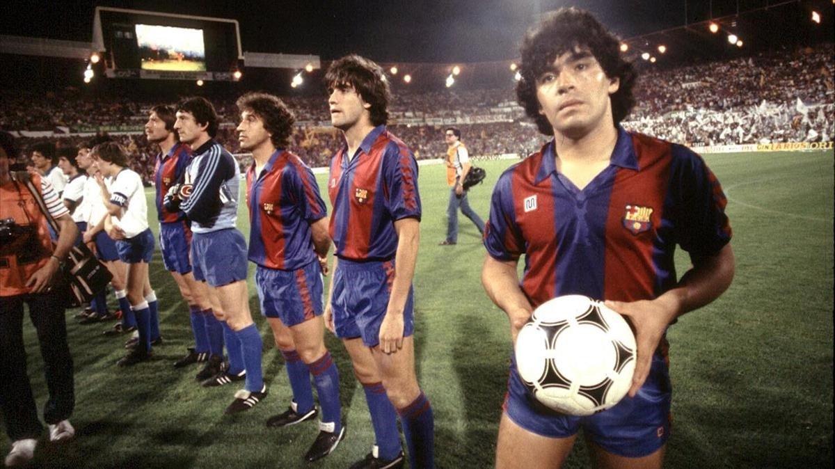 مارادونا بارسلونا