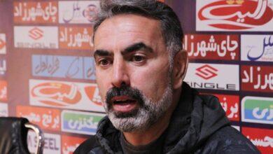 تصویر از مصاحبهی یحیی گلمحمدی و محمود فکری بعد از دربی ۹۴