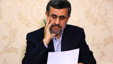 تصویر از نامه احمدی نژاد به روحانی | جلوی جنگ را بگیرید!