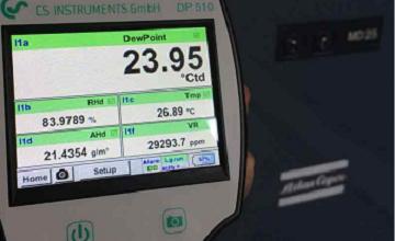 تصویر از ویژگیهای سنسورهای نقطه شبنم و فلومترهای CS INSTRUMENTS