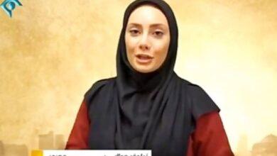 تصویر از نیلوفر مولایی مجری تلویزیون به ایران اینترنشنال پیوست + فیلم
