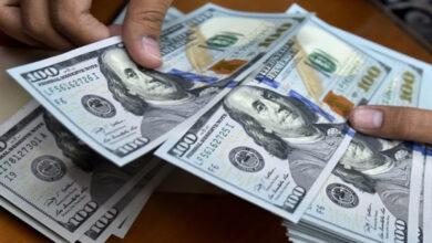 تصویر از سقوط قیمت دلار | دلار در نزدیکی ورود به کانال ۲۲ هزار تومان