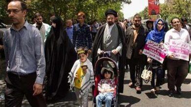 تصویر از واکنش حداد عادل به شایعهی تولد نوه رهبر انقلاب در لندن