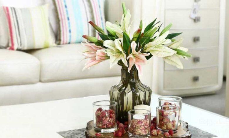 روشهای تمیز کردن گل مصنوعی