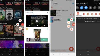 تصویر از بهترین روشها برای ضبط ویدئو از صفحه گوشی موبایل