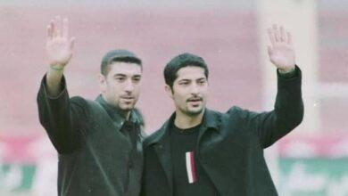 تصویر از حریم خصوصی علی انصاریان و مهرداد میناوند نقض شد