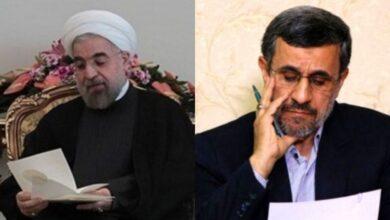 تصویر از متن نامه احمدی نژاد به روحانی | سرشار از اعتراض